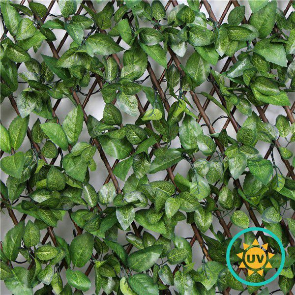 silk foliage artificial trellis