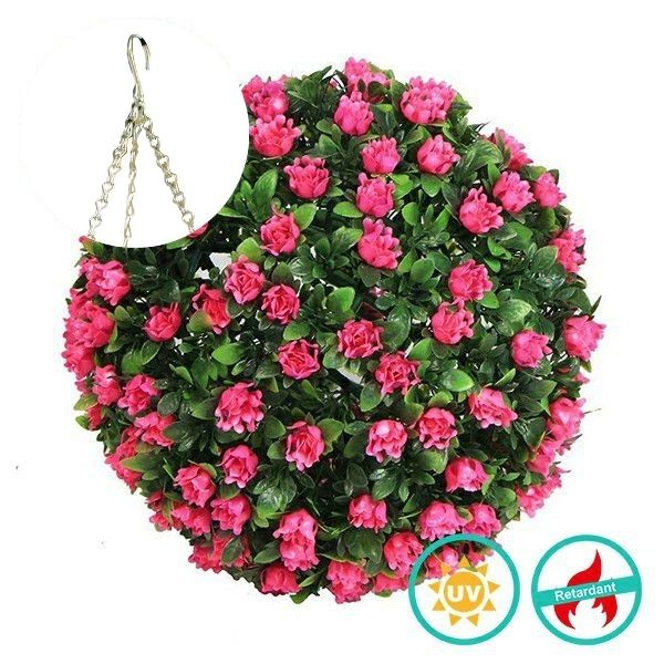 Artificial Flower Topiary Ball