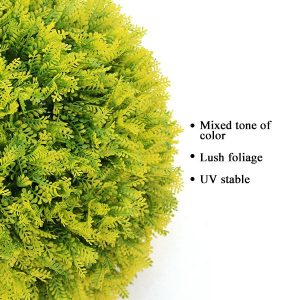 Plastic Topiary Ball with Dawn Redwood