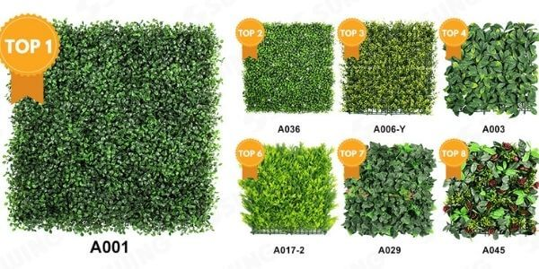 best selling artificial hedges