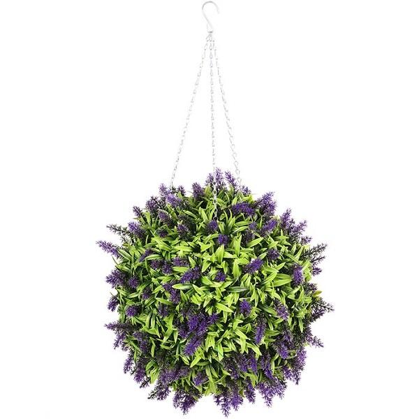 hanging flower green ball