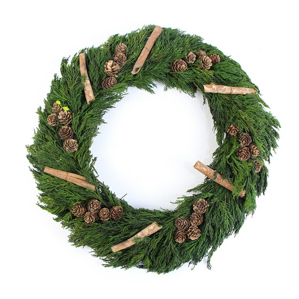 preserved Christmas wreath