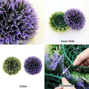 purple topiary ballC17