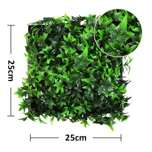 size of framed plant wall A018