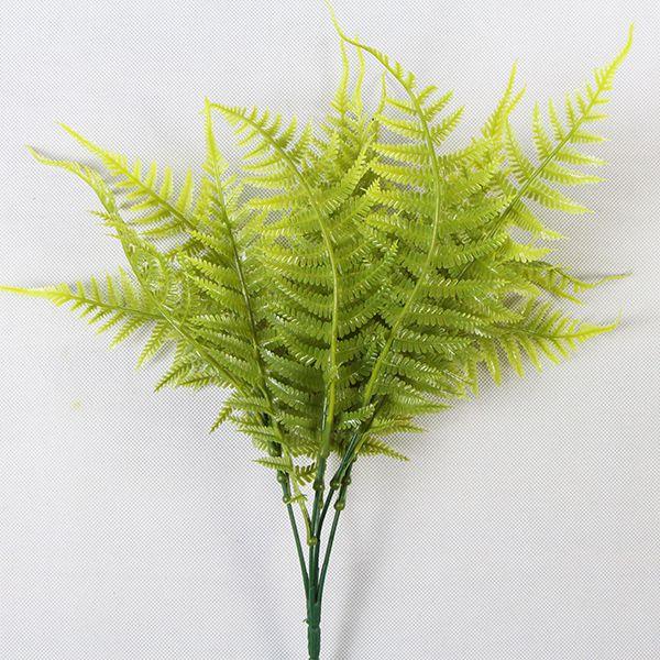 DIY artificial leaves ostrich ferns