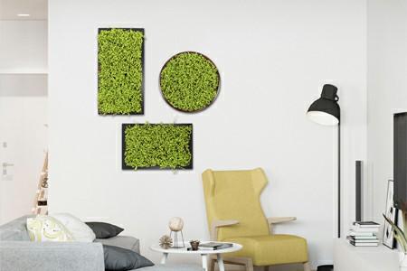 artificial moss frame decor~1