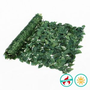 fake ivy fence roll