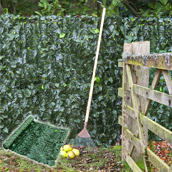 flexible artificial ivy fence