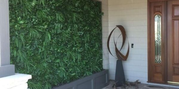 interior artificial plants wall
