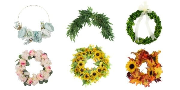 Artificial Wreath Garland