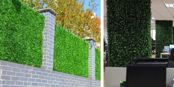 Artificial Hedge Application