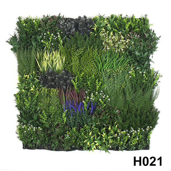 Fireproof Artificial Plants Wall Panel