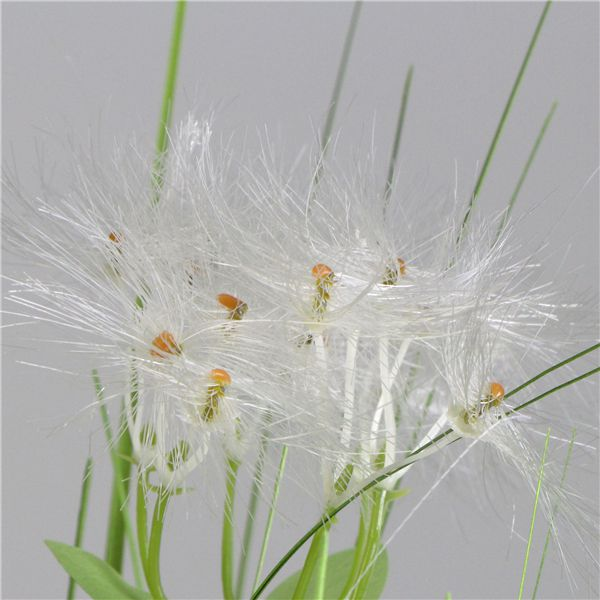 Faux Onion Plants with Gypsophila detail