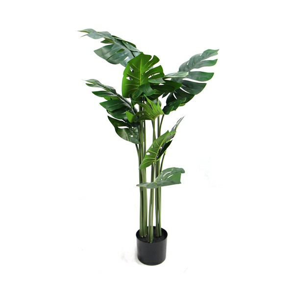 Artificial potted trees Monstera Foliage
