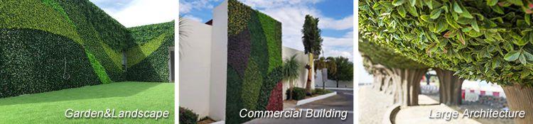 artificial hedges applications