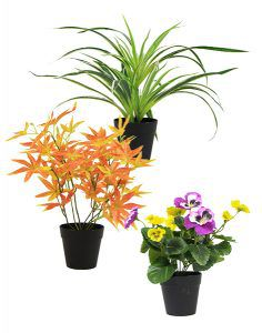artificial potted plants factory