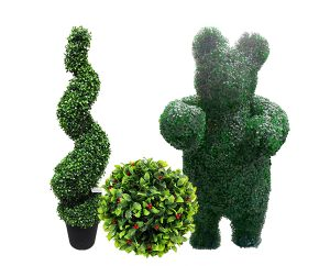 topiary plants artificial
