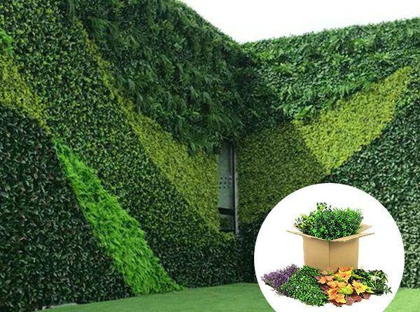 Artificial Hedging Green Wall Design