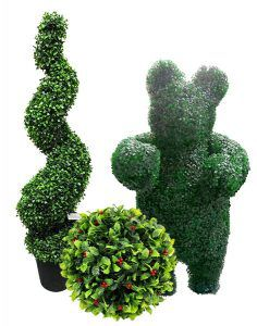 Artificial Topiary plants