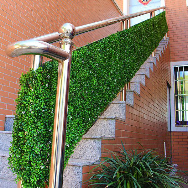 application of artificial boxwood hedging A036