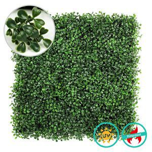 artificial boxwood hedges A001