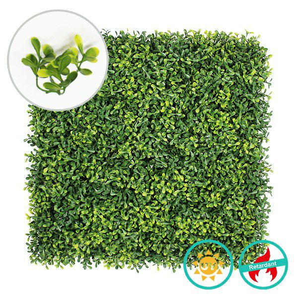 artificial boxwood hedges A013