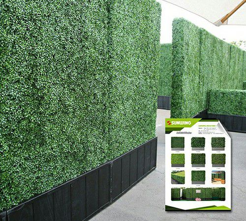 artificial hedge planters for outdoor use and sunwing copy