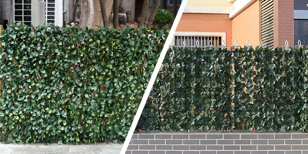 artificial ivy rolls and trellis