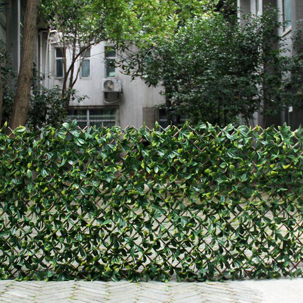 artificial lattice fence screen