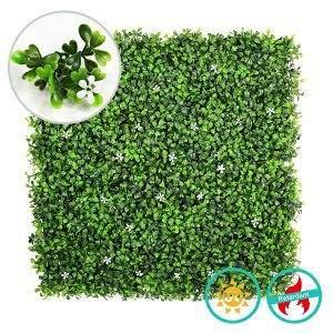 artificial myrtle foliage and flowers A036