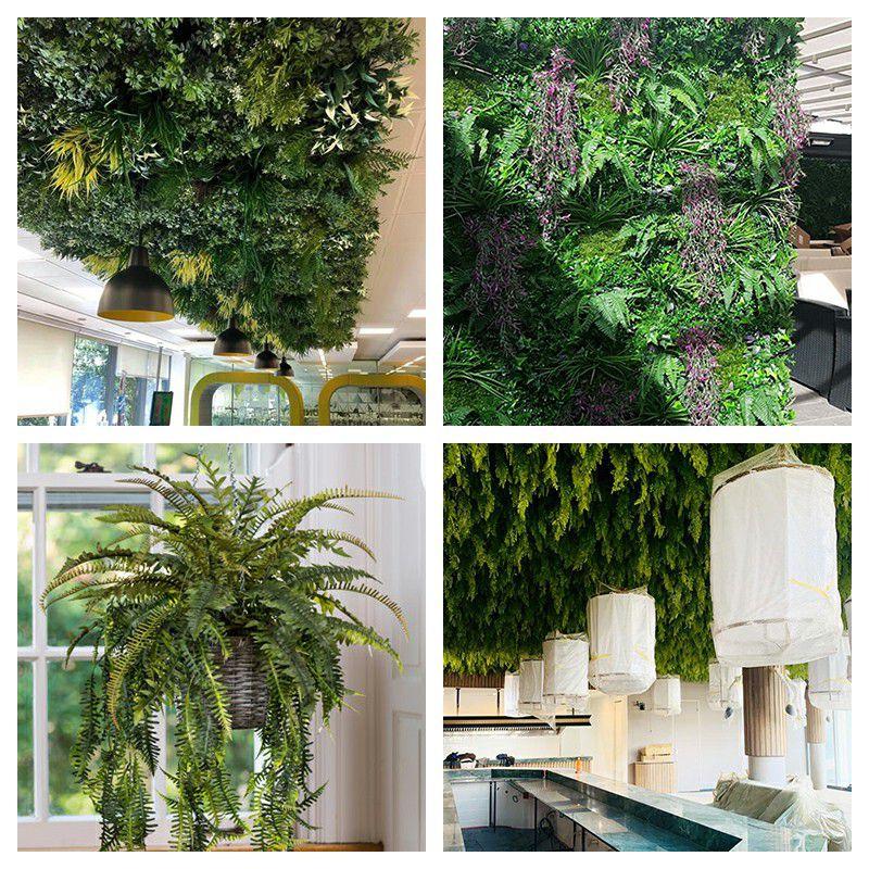 artificial plants arrangements for indoor or outdoor landscape