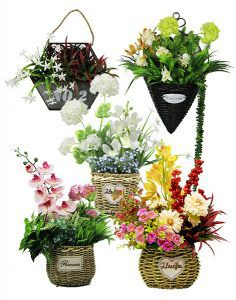 artificial plants brackets