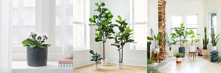 artificial potted plants for home decor