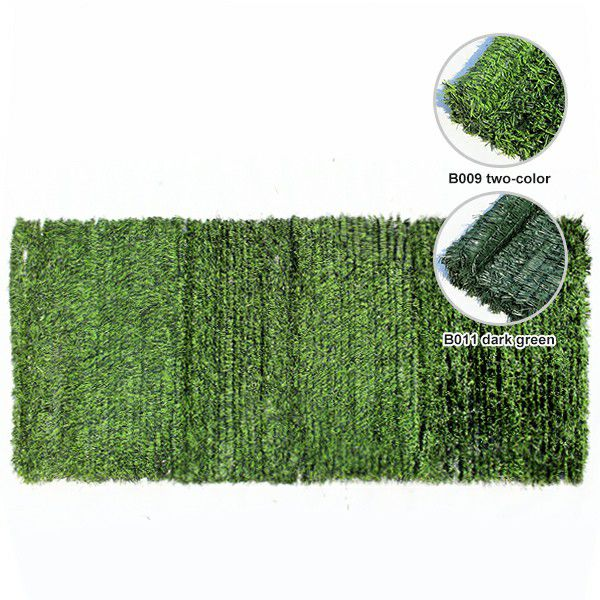 color detail of B009&B011 artificial grass wall