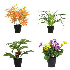 decorative-artificial-plants-in-pots