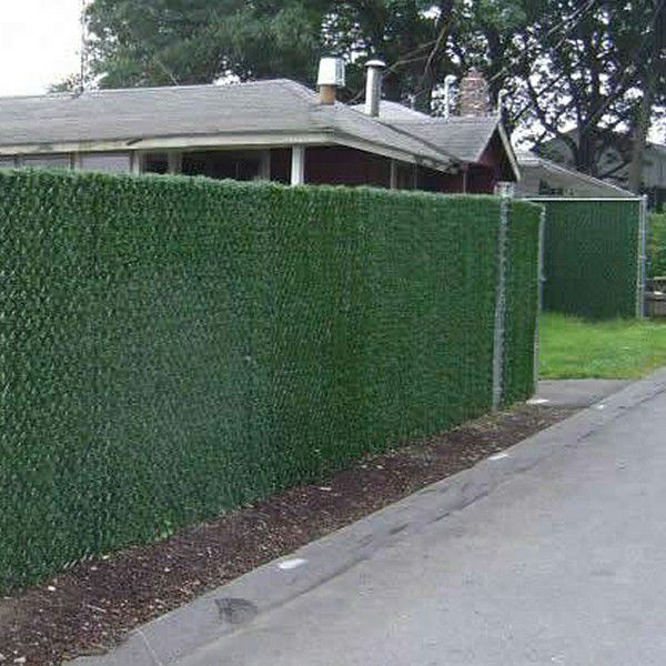 real case study for outdoor fence landscape