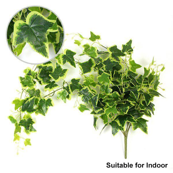 simulated interior vine hanging plants