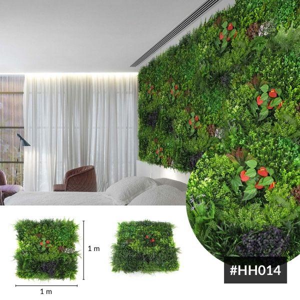 Artificial Garden Panels Tropical Wonderland H014~1