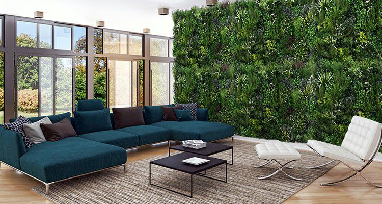 Artificial Plant Wall for Indoor Decoration