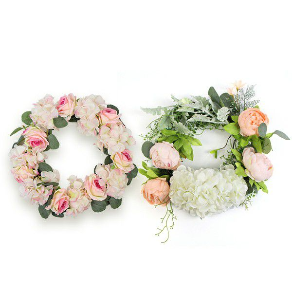 Decorative Silk Wreaths