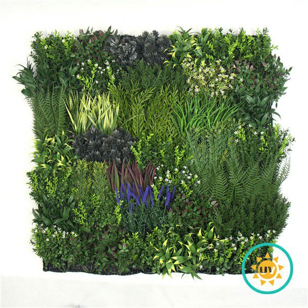 Fireproof Artificial Plants Wall Panel for Decor H021