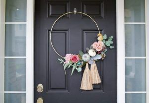 floral swags for front door