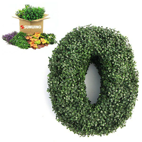 Leaf and Color Options for Artificial Topiary Letters