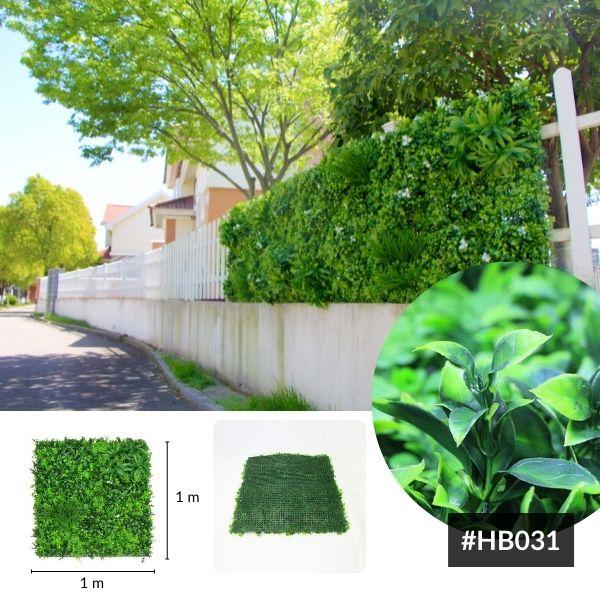 Outdoor UV Resistant Artificial Vertical Garden Wall