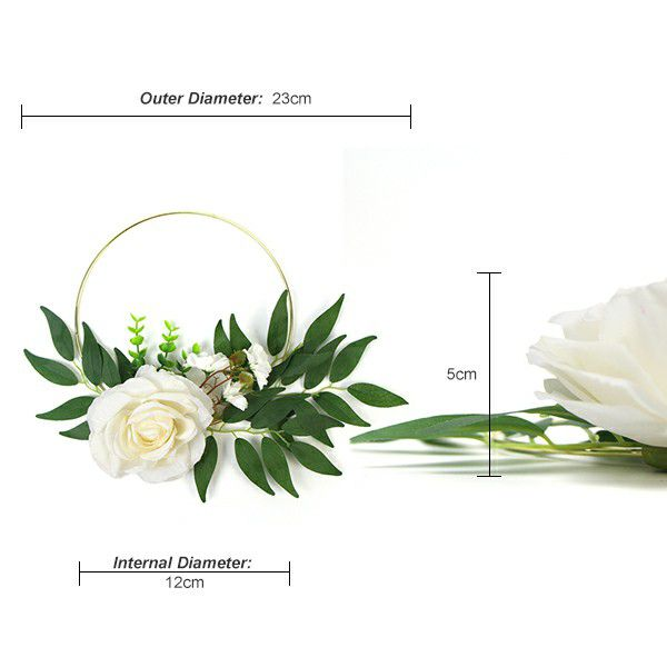 Specification of artificial flower wreath