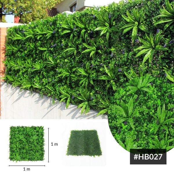Summer style artificial foliage walls HB027