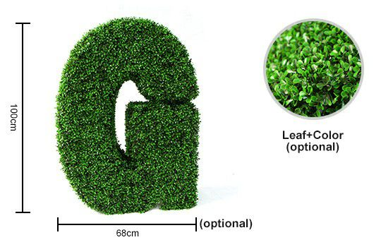 Topiary Letter G Details