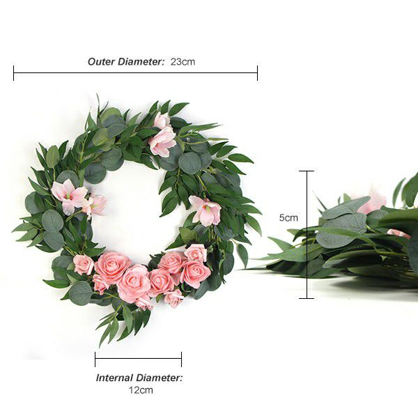 artificial floral wreaths with specification