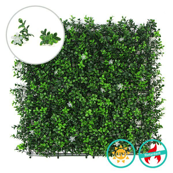 artificial foliage fence screen