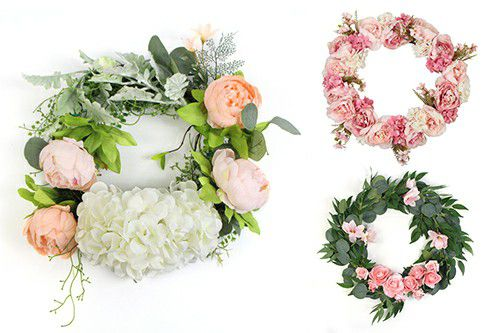 artificial wreaths collections